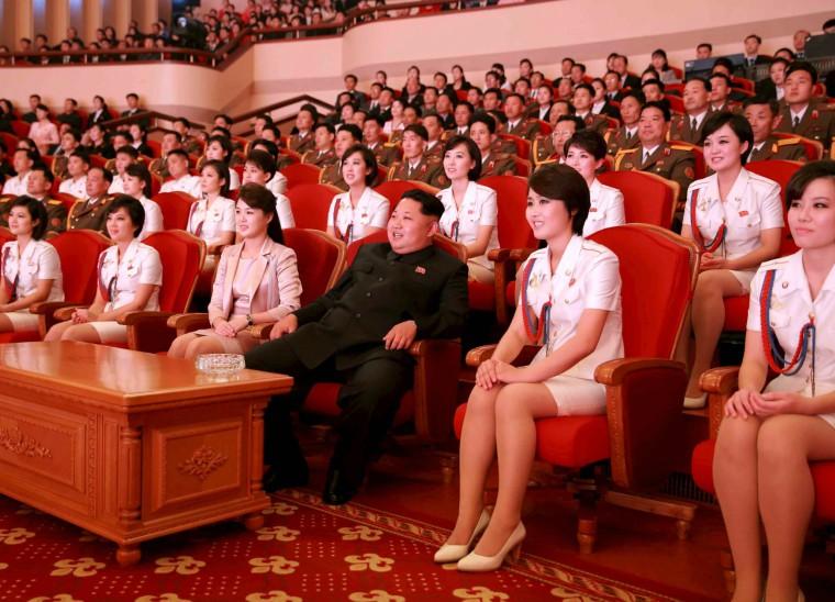 上課上著上著就「被抓走了」! 冬奧北韓正妹啦啦隊其實全是金正恩的「高級性奴」?!