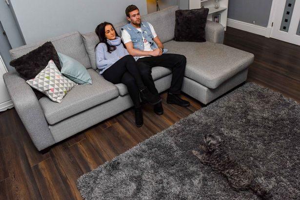 他們剛把地毯買回來就後悔了!「狗狗直接融入客廳」找不到超崩潰:他很會偽裝